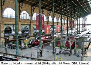 gare du nord nordbahnhof paris