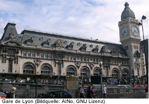 Gare de Lyon Bahnhof Paris