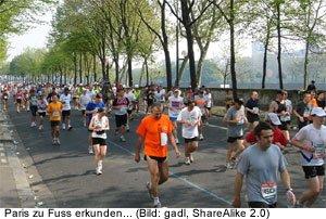 Marathon Veranstaltung Paris