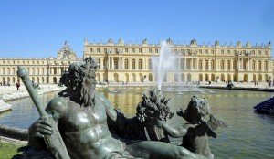 Versailles Schloss Umgebung Paris