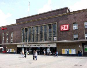 Düsseldorf Bahnhof Eisenbahn Zug