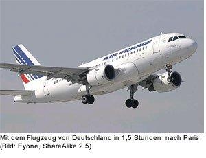 übersicht anreise flugezug airport flughafen paris