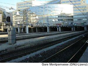 Gare Montparnasse Bahnhof Paris
