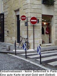 Strassenverhältnisse anreise Verkehr in Paris