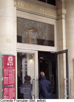 Comedie Francaise Theater ParisTheater
