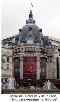 Bazar de l'Hôtel de Ville Paris