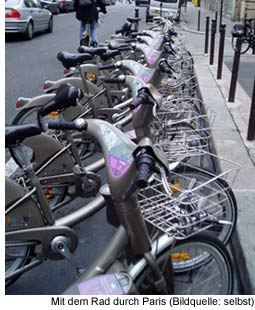 Vélib' Fahrrad ausleihen in Paris