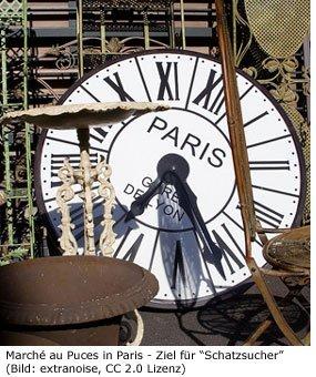 Flohmarkt Paris Au Puces St. Ouen Antiquitäten Markt