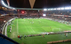 Fußballstadion Atmosphäer Saint Germain