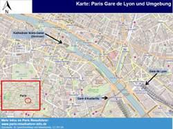 Gare de Lyon Plan