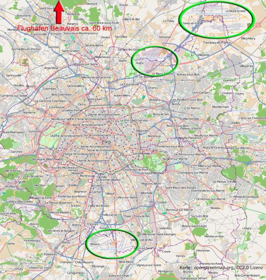 Paris Metro Zonen Karte.Orly Airport Flughafen Paris Tipps Karten Infos 2018