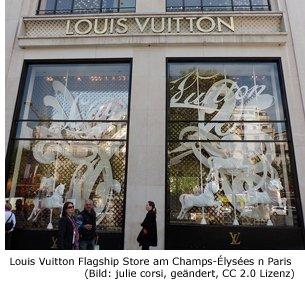 Louis Vuitton in Paris Boutique Store Fashion Designer