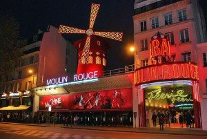 Moulin Rouge Paris Variete Revue Theater