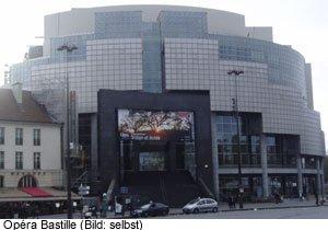Theater Opera Bastille Ausgehen Paris
