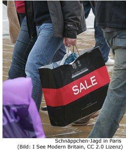 Paris billig Einkaufen Schnäppchen Outlet reduziert Shopping