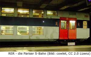 RER S-Bahn Paris