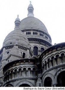 Basilika Sacre Coeur in Paris - Montmartre