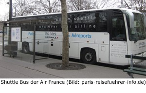 Transfer Shuttle Bus Orly Zentrum