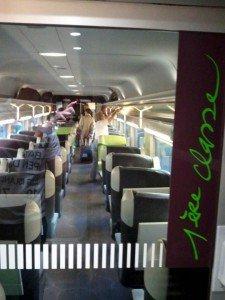1. Klasse TGV Paris Fahrpreis