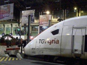 TGV Lyria Schweiz Gare de Lyon Paris