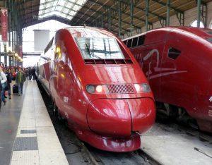 Thalys Zug Paris Düsseldorf Köln
